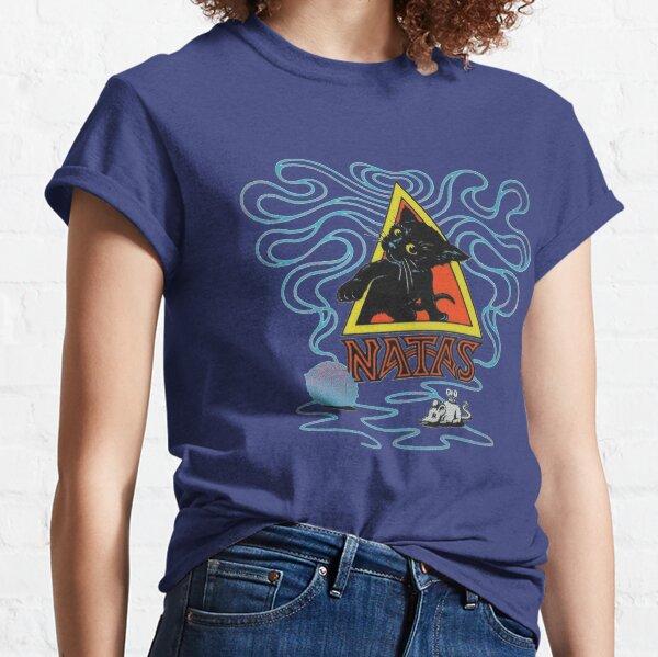 Natas kitty, diseño de camiseta de skate. Camiseta clásica