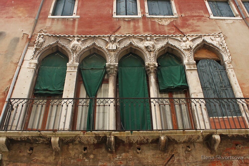 Venetian Windows 2 by Elena Skvortsova