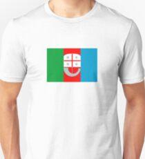 Flag of Liguria Region of Italy  Unisex T-Shirt
