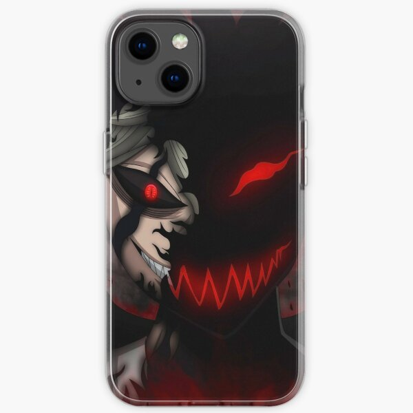 Black Clover Asta Liebe iPhone Soft Case