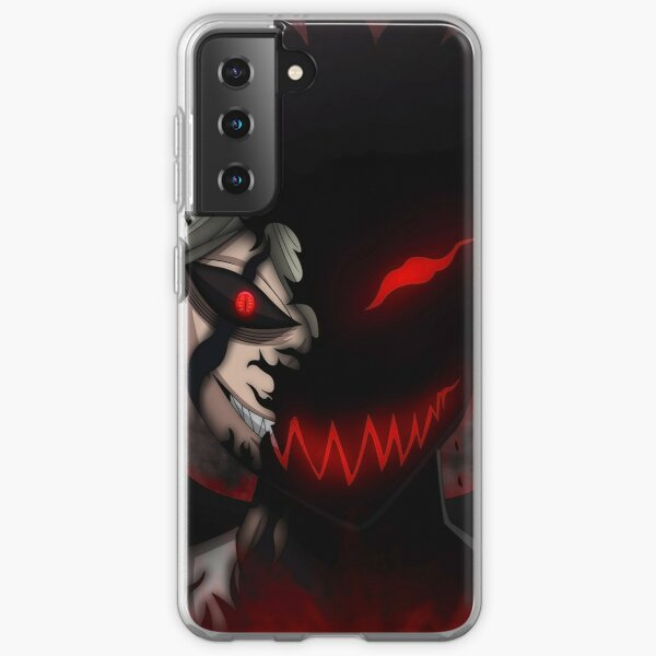 Black Clover Asta Liebe Samsung Galaxy Soft Case