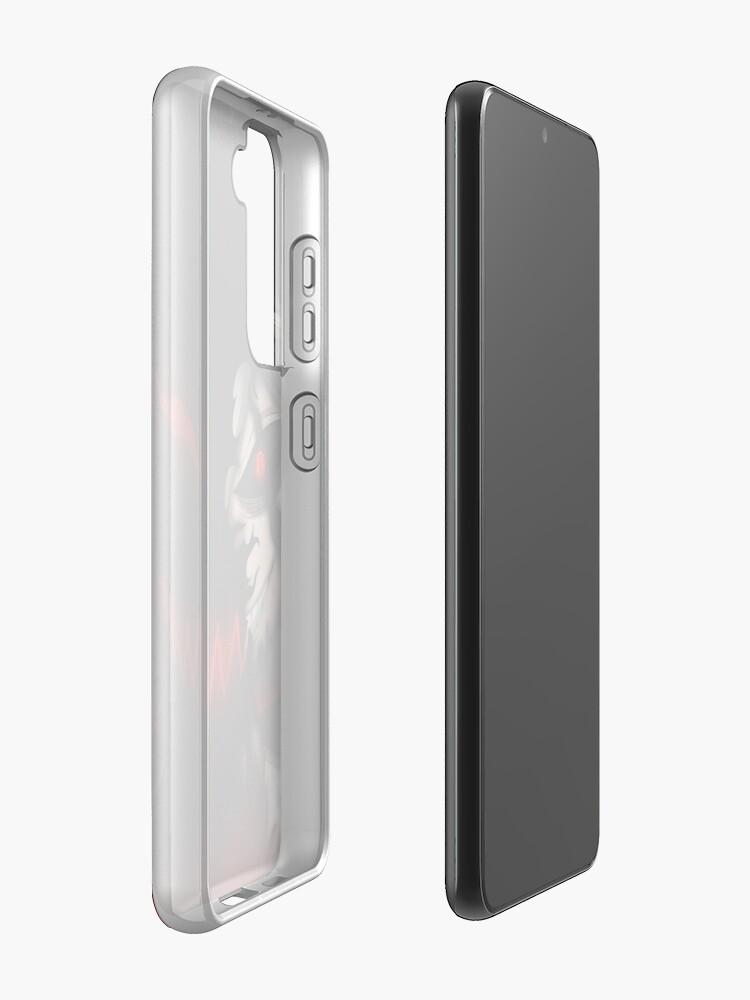 Alternate view of Black Clover Asta Liebe Case & Skin for Samsung Galaxy