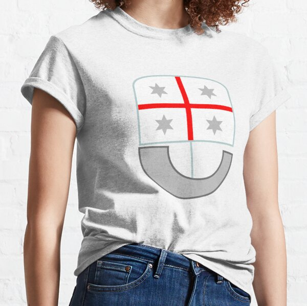 Coat of Arms of Liguria Region of Italy  Classic T-Shirt