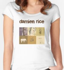 Damien Rice  Women's Fitted Scoop T-Shirt