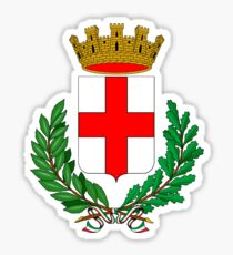 Coat of Arms of Milan  Sticker