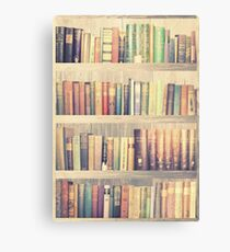 Dream with Books - Love of Reading Bookshelf Canvas Print