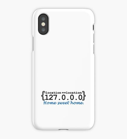 127.0.0.0 - Home sweet Home VRS2 iPhone Case