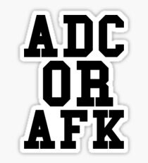 Adc Or Afk Sticker