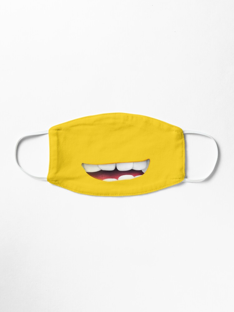 Alternate view of Minions smile Mask