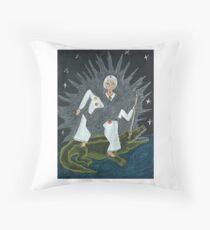 Goddess Akhilandeshvari Throw Pillow