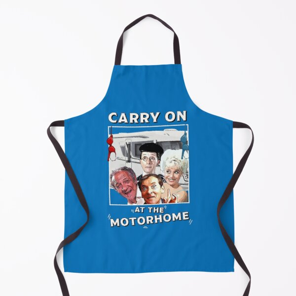 Motorhomes - Motorhome Novelty Gifts - Motorhome Warming Gifts - Carry On At  Motorhome  Apron