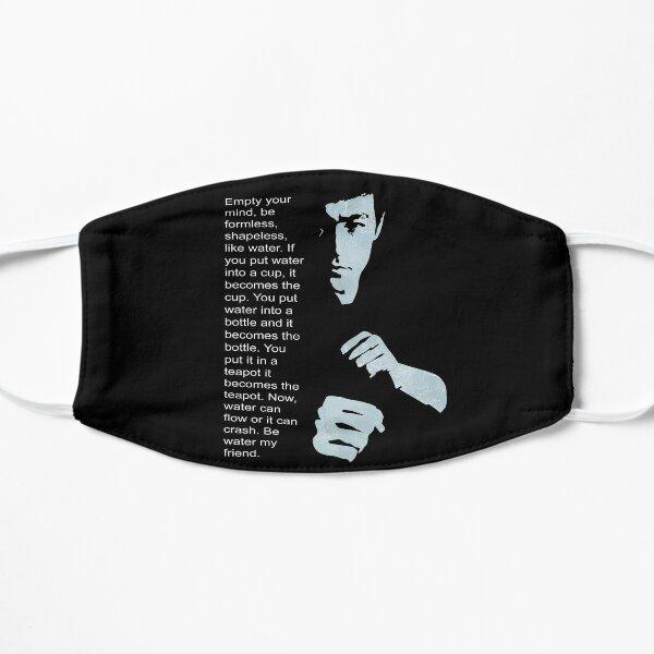 Bruce Lee sea sin forma, informe como el agua Mascarilla plana