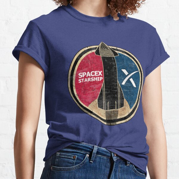 SpaceX Starship Badge Classic T-Shirt