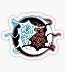 Rin Vang (Raava x Vaatu - Yin Yang) Sticker