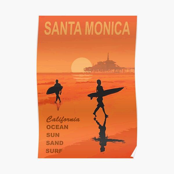 Santa Monica. Poster