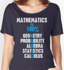 Mathematics Women's Relaxed Fit T-Shirt