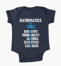 Mathematics Kids Clothes