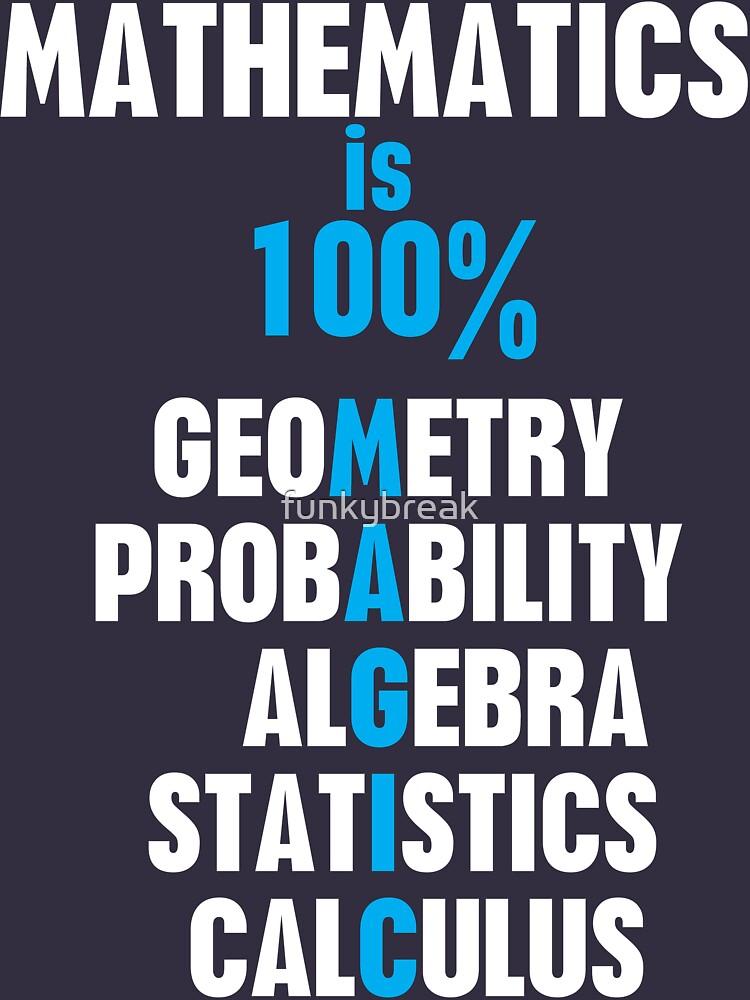 TShirtGifter presents: Mathematics | Unisex T-Shirt
