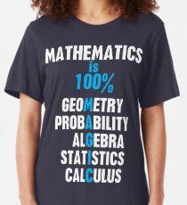 Mathematics Slim Fit T-Shirt