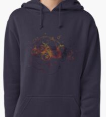 Time Lord Writing (blue) Pullover Hoodie