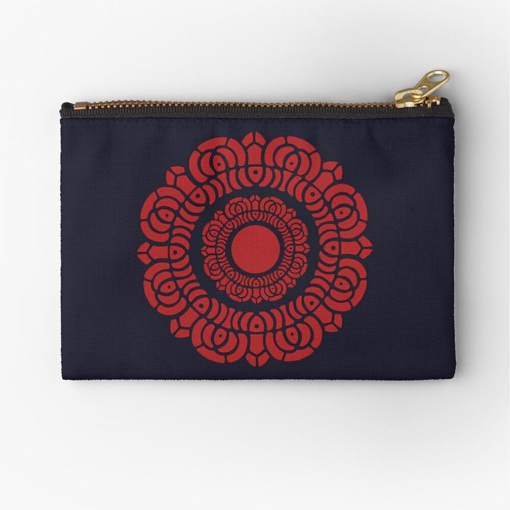 Legend of Korra - Red Lotus Zipper Pouch
