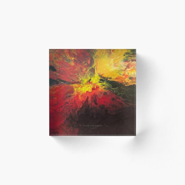 This Girl is on Fire Acrylic Block