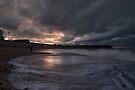 Sunset at Eyemouth, Scotland by Nigel Bangert
