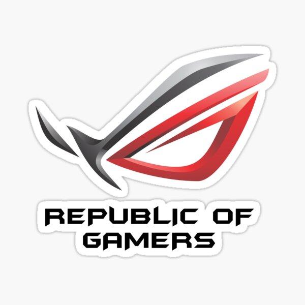MEJOR COMPRAR - Asus ROG Republic Of Gamers Pegatina