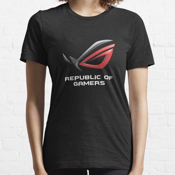 MEILLEUR À ACHETER - Asus ROG Republic Of Gamers T-shirt essentiel