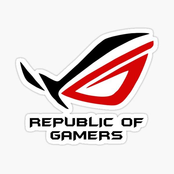 MEILLEUR À ACHETER - Asus ROG Republic Of Gamers Sticker
