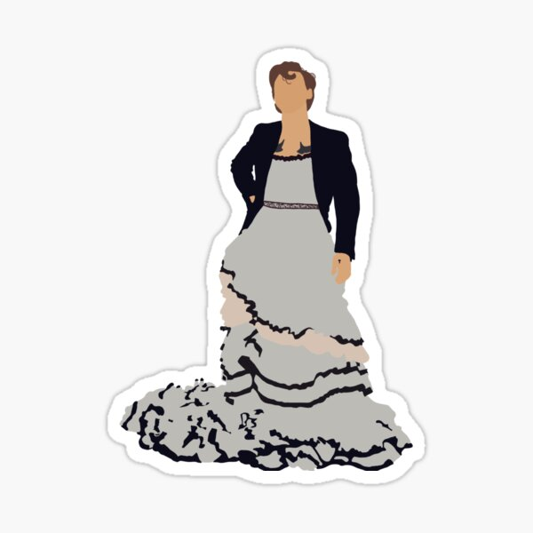 Harry Styles Vogue cover sticker, +more Sticker