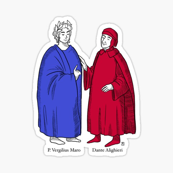 Dante Alighieri Stickers Redbubble