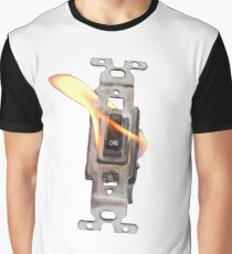 FLAME ON! Switch On Fire! Graphic T-Shirt