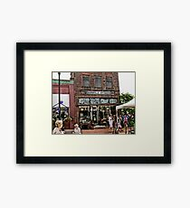 """""""Burrville Antiques""""... prints and products Framed Print"""