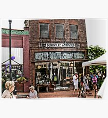 """""""Burrville Antiques""""... prints and products Poster"""