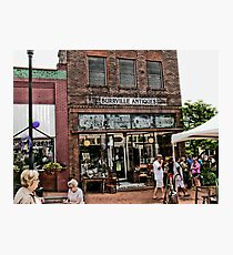 """Burrville Antiques""... prints and products Photographic Print"