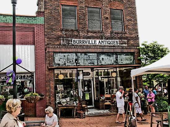 """Burrville Antiques""... prints and products by Bob Hall©"