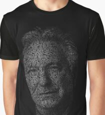 Alan Rickman Graphic T-Shirt