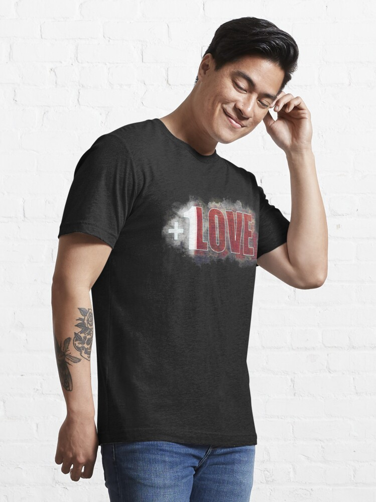 Alternate view of +1 LOVE mystery Essential T-Shirt