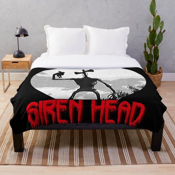 Siren Head Throw Blanket