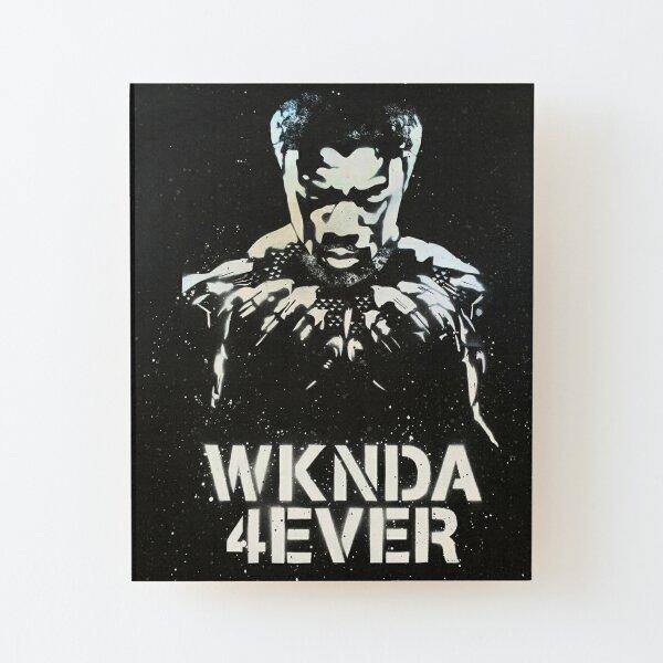 WKNDA 4EVER Graffiti Art Wood Mounted Print