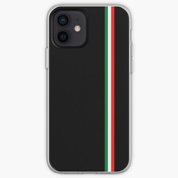 Minimalist Italian Flag (Italy) iPhone Soft Case