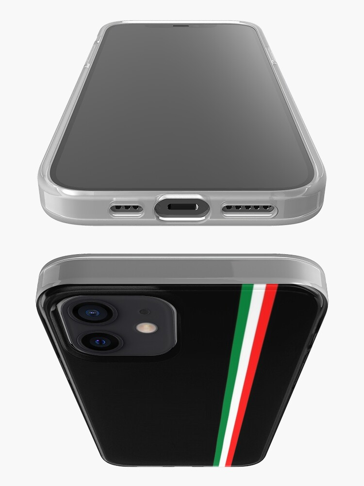 Alternate view of Minimalist Italian Flag (Italy) iPhone Case & Cover