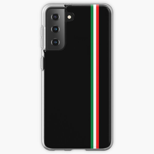 Drapeau italien minimaliste (Italie) Coque souple Samsung Galaxy