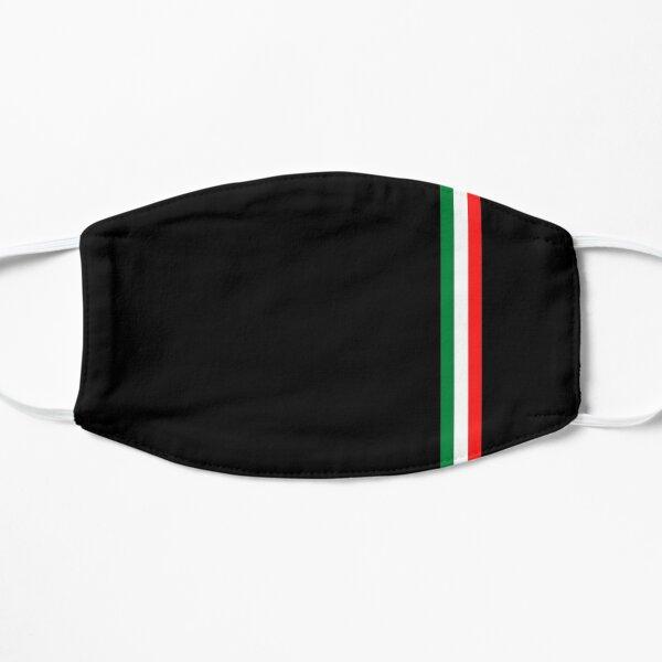 Minimalistische italienische Flagge (Italien) Maske