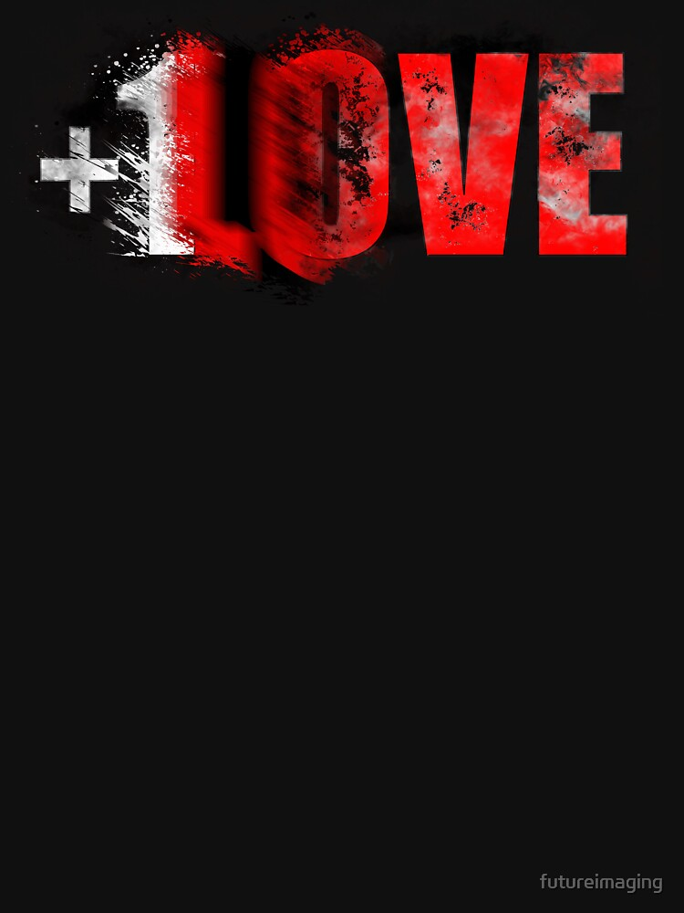 +1 LOVE scattered by futureimaging