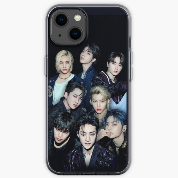 Stray kids ot8 SKZ kpop iPhone Soft Case