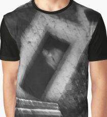 Abstract balance between man and architecture Graphic T-Shirt