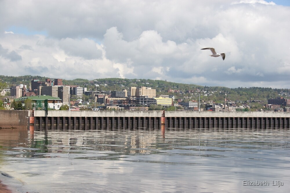 Pier: Duluth, Minnesota - United States of America by Elizabeth  Lilja