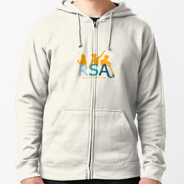RSA Performance Logo Zipped Hoodie
